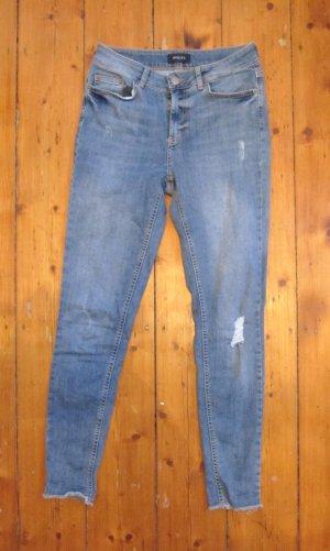 Schöne Röhrenjeans von Pieces Jeans Stretch Röhre Größe M NEU