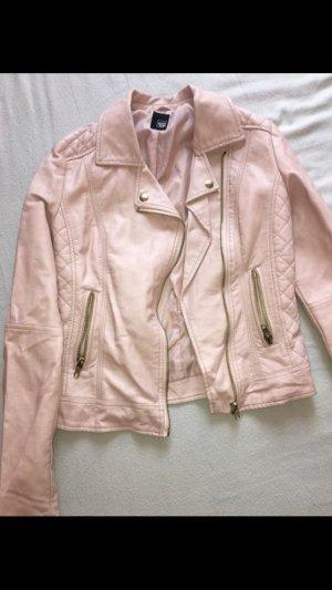 Schöne rosa farbige Lederjacke von pimkie