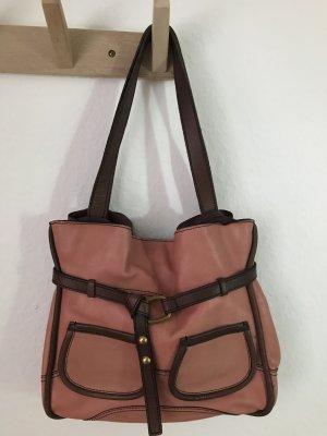 Schöne rosa Handtasche von Fossil