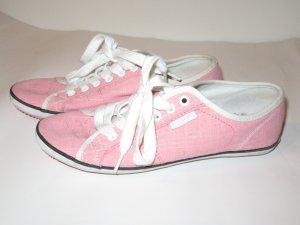 schöne rosa Kustom Schuhe