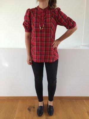 Schöne rot karierte Bluse von H&M