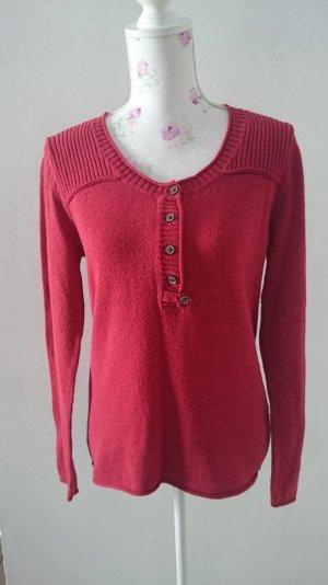 Schöne rot pullover von Tom Tailor Gr 44