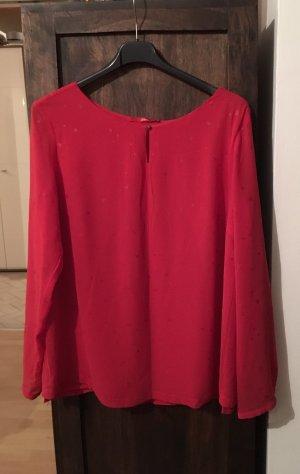 Schöne rote Bluse von S Oliver