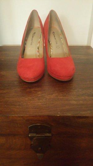 schöne rote High Heels Gr. 41