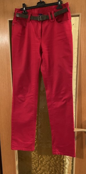 Cecil Five-Pocket Trousers red