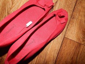 Schöne rote Sommerschuhe Gr. 39 von Yessica