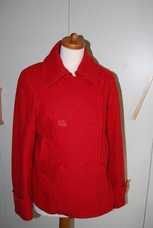schöne rote Wolljacke von H&M in Gr. 36/38