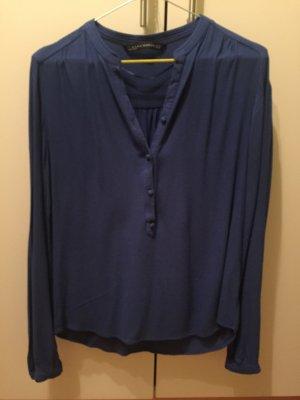 Schöne royalblaue Bluse von Zara