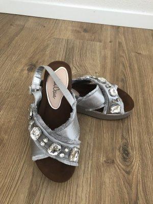 Schöne sa Sandaletten