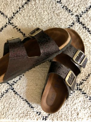 Birkenstock Comfort Sandals multicolored imitation leather