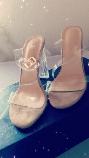 schöne sandalen Gr 36 aus italien NP 80