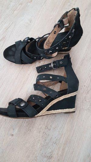 5th Avenue Sandalo con cinturino e tacco alto nero