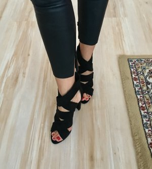 Zara Basic High Heel Sandal black