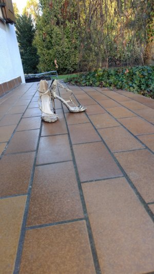Cm Laufsteg High Heel Sandal multicolored imitation leather