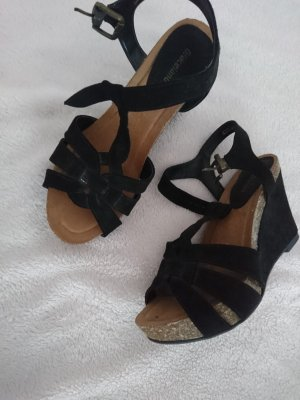 Deichmann High-Heeled Sandals black