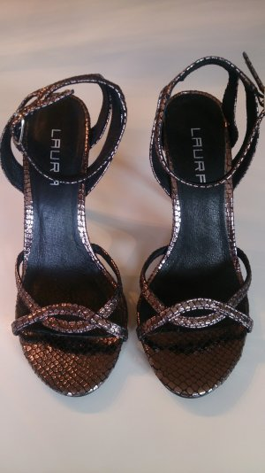 Laura High Heel Sandal silver-colored-rose-gold-coloured