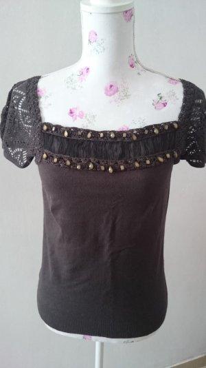 Schöne Schirt-Bluse Gr 36