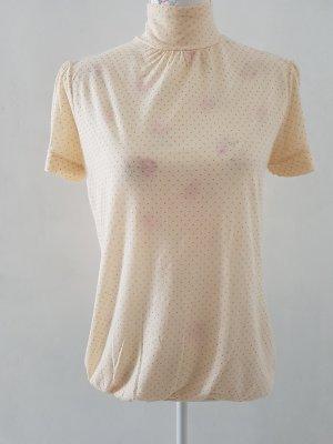 Zara Blusa blanco puro-crema