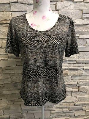 1.2.3 Paris Batik Shirt black-grey brown