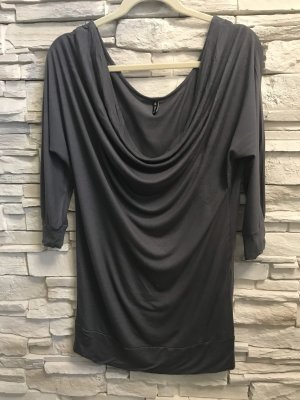 Amisu Long Sleeve Blouse anthracite