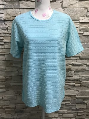 Avitano Batik shirt lichtblauw
