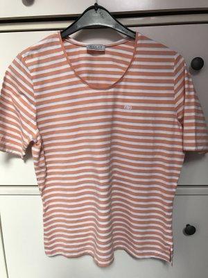 Basler Shirt wit-oranje