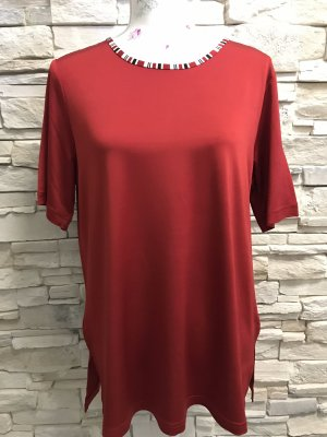Citiknits T-Shirt dark red-red