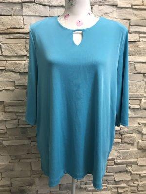 Citiknits Short Sleeved Blouse light blue