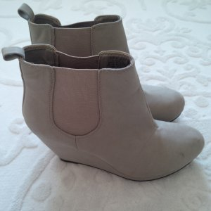 H&M Platform Boots gold-colored