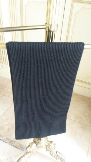 Schöne schlichte Strickschal schwarz von Joop!