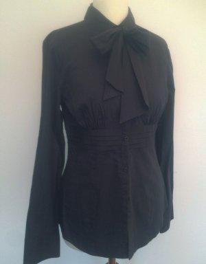 Schöne Schluppen-Bluse • Bluse mit Schleife • Business-Bluse