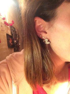 Schöne Schmetterling swatch-Ohrringe