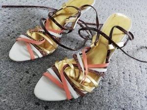 H&M Escarpins à lacets multicolore