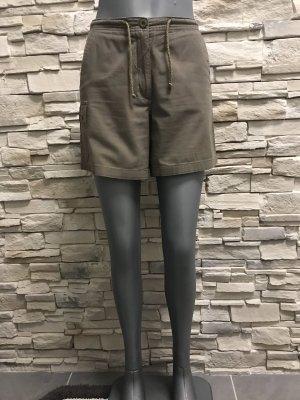 Blue Motion High-Waist-Shorts grey brown
