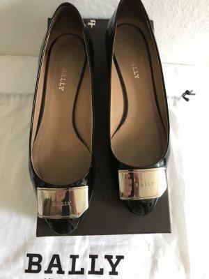 Bally Zapatos formales negro Cuero