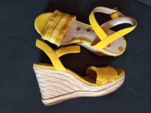 Boden Espadrille Sandals yellow