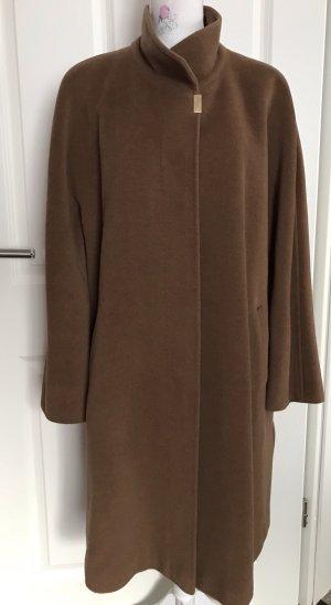Basler Abrigo de lana marrón claro
