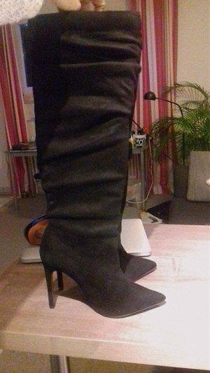Schöne schwarz Stiefel