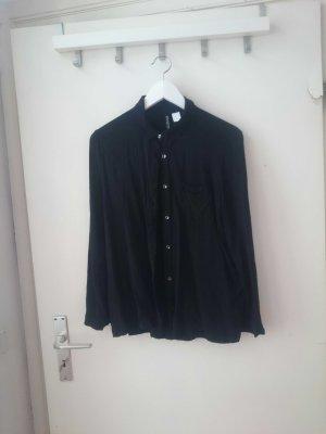 schöne schwarze Bluse