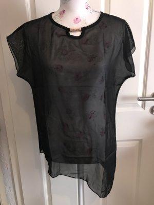 Schöne schwarze Bluse Gr 34