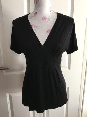 Schöne schwarze Bluse Gr 36