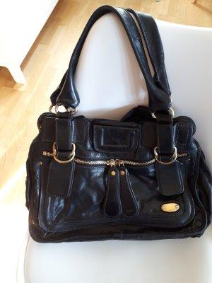 Schöne schwarze Chloe Tasche