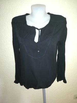 Schöne schwarze Damen Bluse Gr. L