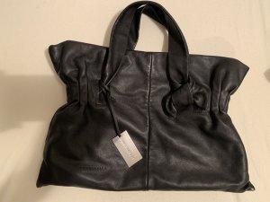 Schöne schwarze Handtasche aus Nappaleder von Coccinelle
