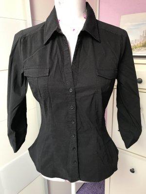Schöne schwarze Hemd von H&M Gr 40