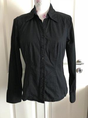 Schöne schwarze Hemd von Street One Gr 38