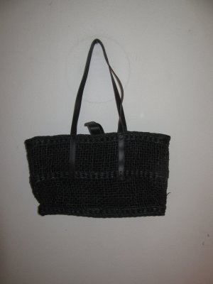 Vintage Basket Bag black