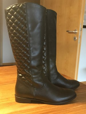 Schöne schwarze Tamaras Stiefel