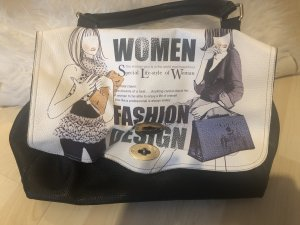 Business Bag black-white