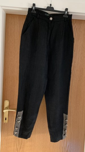 Schöne schwarze Trachten Hose von BERWIN WOLFF